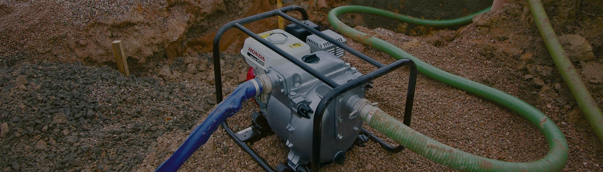 Honda generatorer og vandpumper