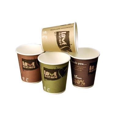 Kaffekop Bio Love nature ass 30cl 75stk