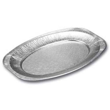 Alufad lux oval lille 351x243mm 10stk