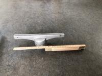 Topholder alu 30cm lang f/Ø60mm