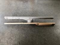 Topholder alu 60cm lang f/Ø60mm