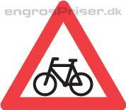 Cyklister 70cm A21 tavle