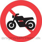 Motorcykel Forbudt 50cm C22.2