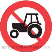 Traktor forbudt 50cm C24.1