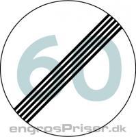 Ophør Hastighedsbegr 30cm C56