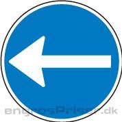 Påbudt Kørsel 30cm D11.2 tavle