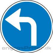 Påbudt Kørsel 50cm D11.4 tavle