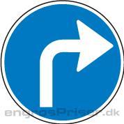 Påbudt Kørsel 70cm D11.5 tavle