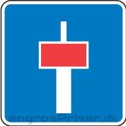 Blind vej m/stianl 50cm E18.1