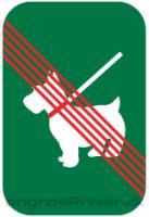 Hunde forbudt 30x20 enkelt