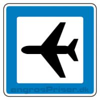 Servicetavle Lufthavn M12 50x50cm