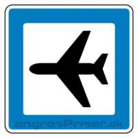 Servicetavle Lufthavn M12 70x70cm