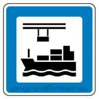 Servicetavle Containerhavn M9 70x70cm