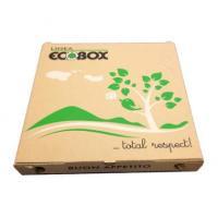 Pizzaæske 32x32x3cm ecobox logo 100stk
