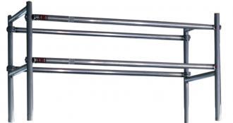 Gelændersæt t/foldestillads 130x250cm