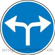 Påbudt Kørsel 70cm D11.8 dobb.