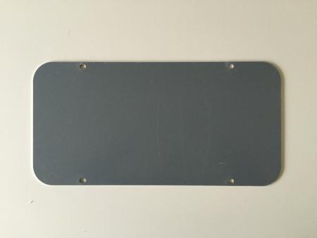 Aluplade 2mm hxb 23,5x275cm