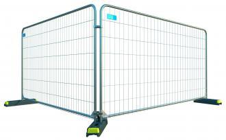 Byggepladshegn 200x350cm galv secure