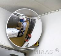 Spejl konveks 60cm rund hvid