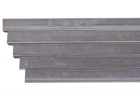 Jernrør firk.200cm 40x40mm